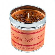 Best Kept Secrets STICKY APPLE TART Candle Tin - Seriously Scented! - 50 hr burn
